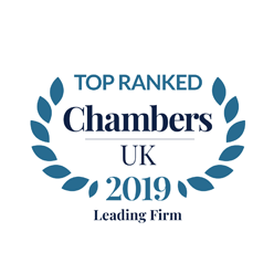 Top tier firm, Chambers UK