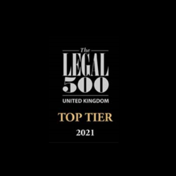 Top tier firm, The Legal 500