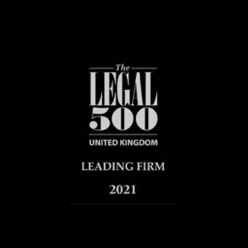 Recommended, The Legal 500