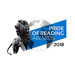 Finalist, Pride of Reading Awards 2018