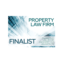 Finalist, 'Property Law Firm of the Year', Thames Valley Property Awards 2018