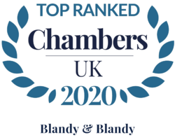 Blandy & Blandy Top Ranked in Chambers Guide