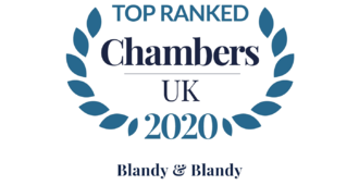 Blandy & Blandy Top Ranked in Chambers UK 2020