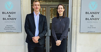 Blandy & Blandy LLP Welcomes New Trainee Solicitors
