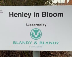 Blandy & Blandy Supports Henley in Bloom